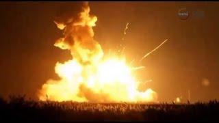 US rocket explosion!! Mutant scare prank lol