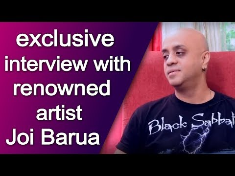 exclusive interview with renowned artist...