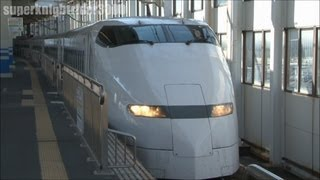 JR西日本 300系 F7編成 廃車回送 広島駅に入線 2012.8