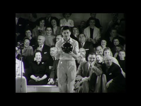 Jerry Lewis & Paul Krumske  Bowling Kings 25 minute clip 1959  MDA Telethon