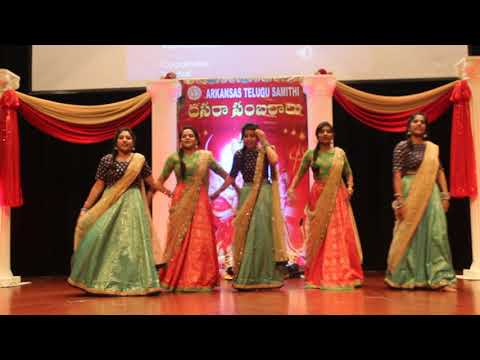 Arkansas Telugu Samithi Dussera 2017 Dance Rhythm Group