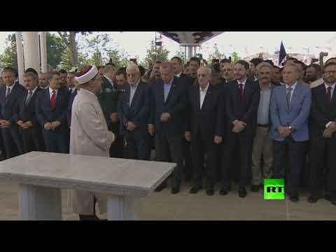 أردوغان يشارك في صلاة الغائب على مرسي  - نشر قبل 3 ساعة