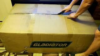 Лодочный мотор Gladiator 9,9 (15) л/с, 2 такта (распаковка)