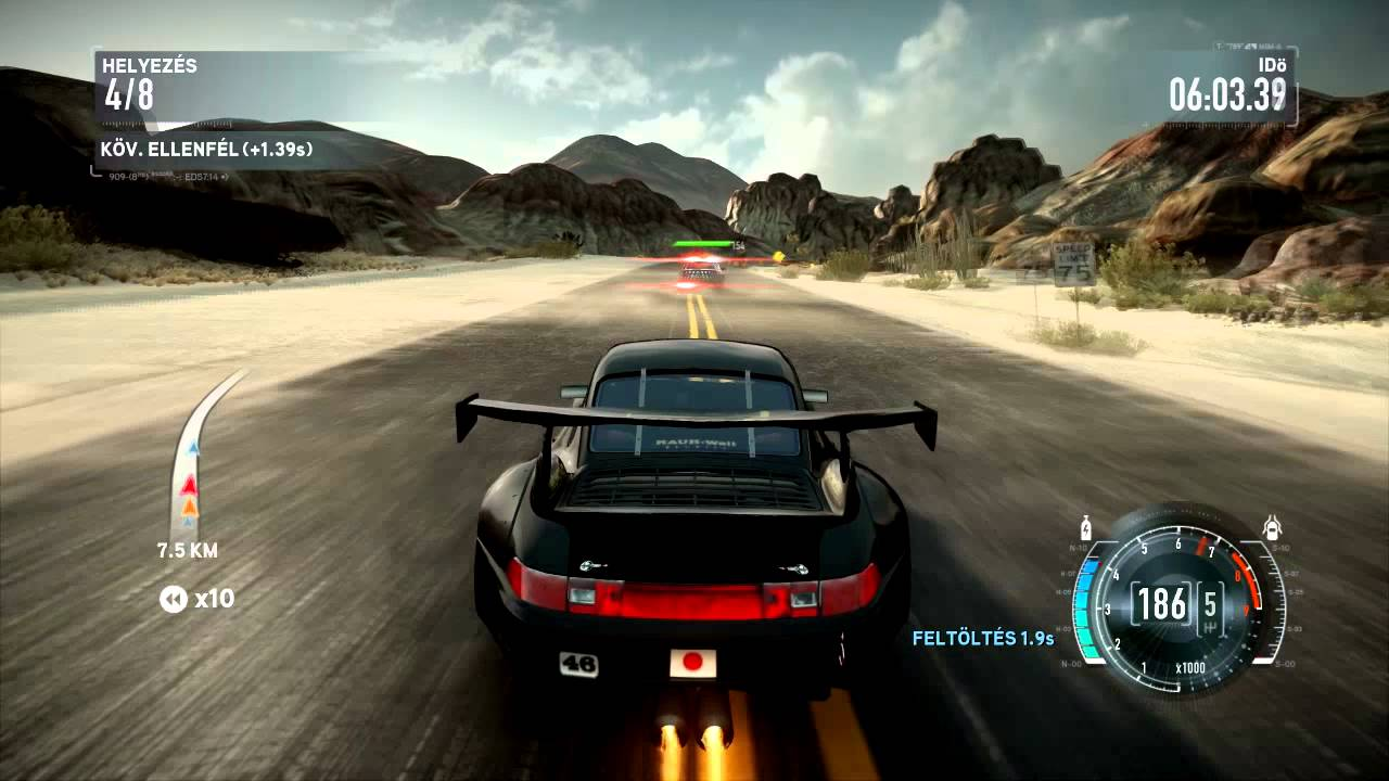 need for speed the run porsche 911 gt2 rwb police youtube. Black Bedroom Furniture Sets. Home Design Ideas