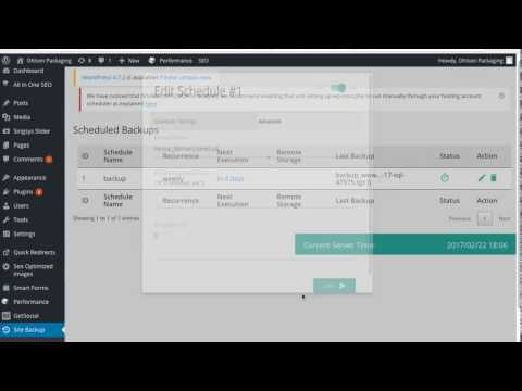 XCloner 4.0 - Wordpress Backup And Restore Plugin
