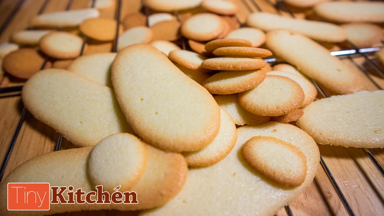 Cats Tongues Cookies Tiny Kitchen