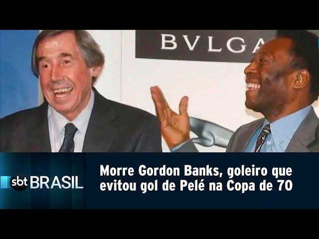 Morre Gordon Banks, goleiro que evitou gol de Pelé na Copa de 70 | SBT Brasil (12/02/19)