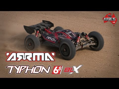 ARRMA Typhon 6S BLX V4 First Run