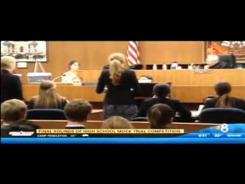 2015 San Diego County High School Mock Trial Finals