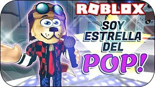 ROBLOX - I become a POP STAR! 😂😂😂