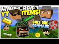 Minecraft | YOUTUBER ITEMS! | Magic YouTube Items | Only One Command (Minecraft Custom Command)