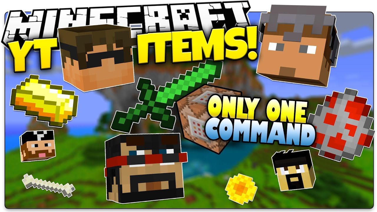 Minecraft youtuber items magic youtube items only - Minecraft decorative items ...