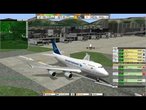 Air Traffic Controller 3: Hong Kong Kai Tak Airport Gameplay(啟德機場)