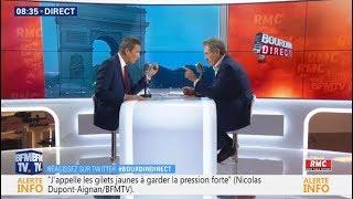Nicolas Dupont-Aignan invité de Bourdin Direct