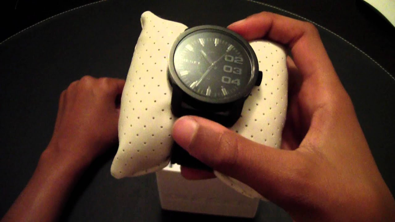 how to set diesel watch