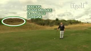 Règles de Golf : La balle provisoire