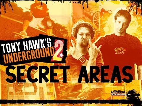 Tony Hawk's Underground 2: Secret Areas
