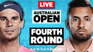 🔴 NADAL vs KYRGIOS | Australian Open 2020 | LIVE Tennis Stream Play-by-Play