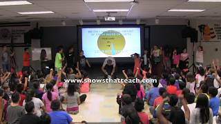 """The Hyrdro Game Show"" water science assembly"
