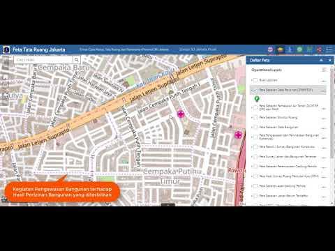 Sistem Informasi Geografis Tata Ruang Provinsi DKI Jakarta