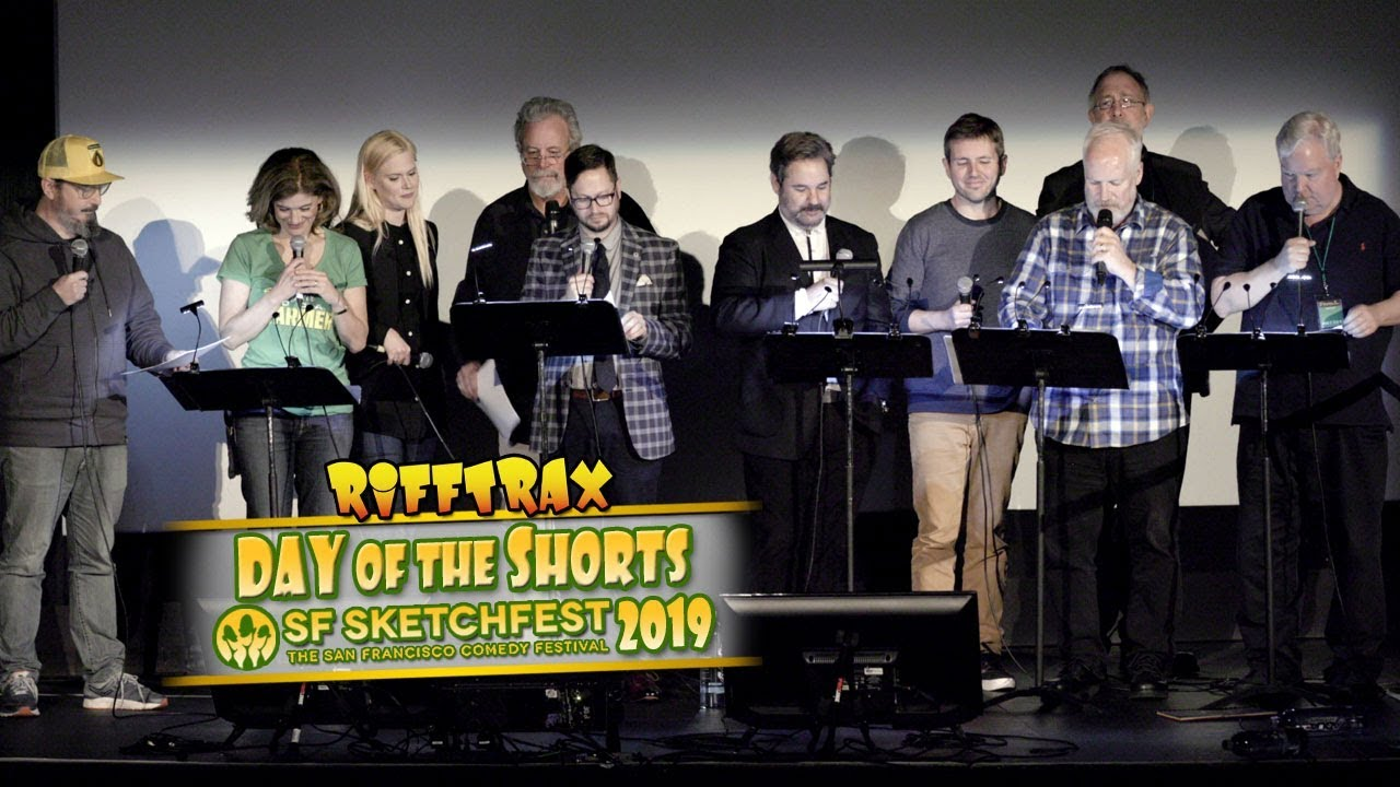 Rifftrax Christmas 2019 RiffTrax: Day of the Shorts   SF Sketchfest 2019 (preview)   YouTube