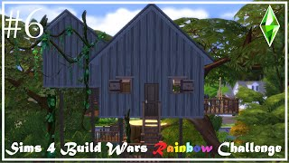 Purple Hideaway Tree House I Build Wars Rainbow Challenge [#6] I Sims 4 build I Rebeccas Creations