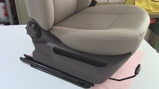 Plastic Trims Wrapped in Vinyl - Car Upholstery