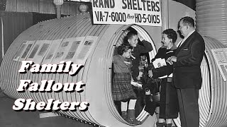 Family Fallout Shelters