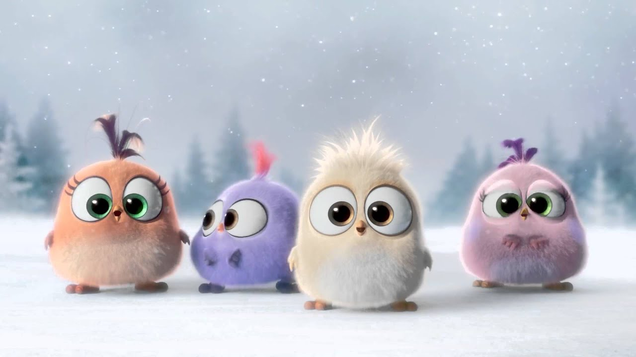 Cute Cartoon Bird Wallpapers Angry Birds Christmas Special Youtube
