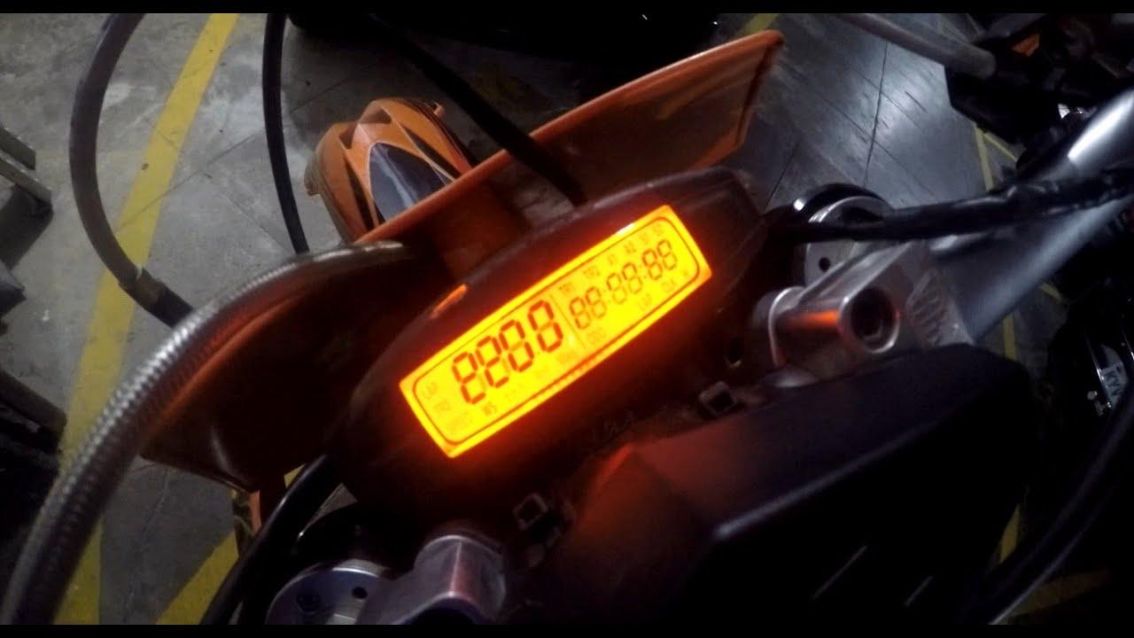 dica recuperando o cabo do sensor do painel ktm husaberg husqvarna [ 1280 x 720 Pixel ]
