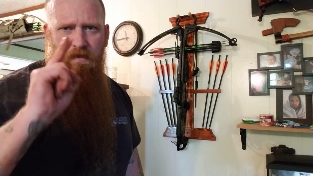 Building A Crossbow Rack