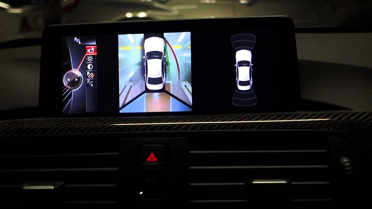 bmw f80 m3 surround view option youtube. Black Bedroom Furniture Sets. Home Design Ideas