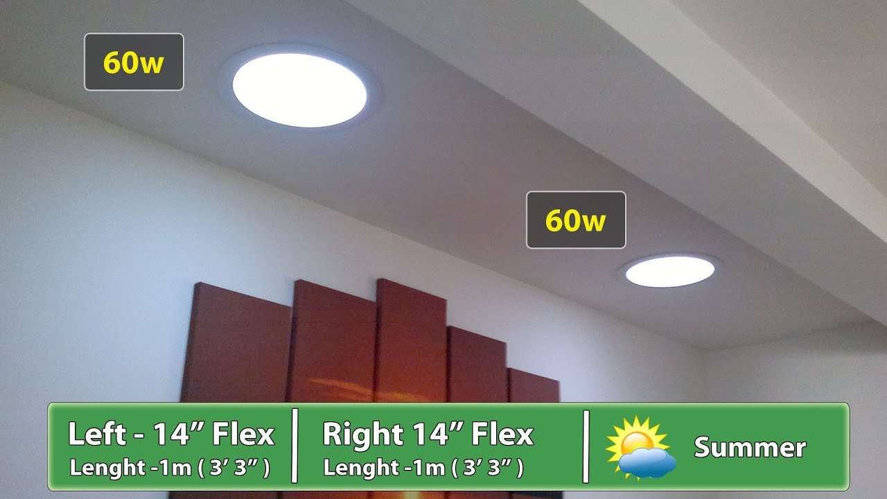 Before And After Velux Sun Tunnel And Solartube Suntube Install Reviews Youtube