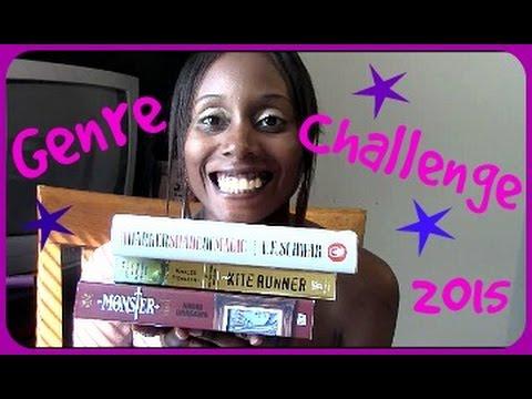THE GENRE CHALLENGE [#GENRECHALLENGE2015]