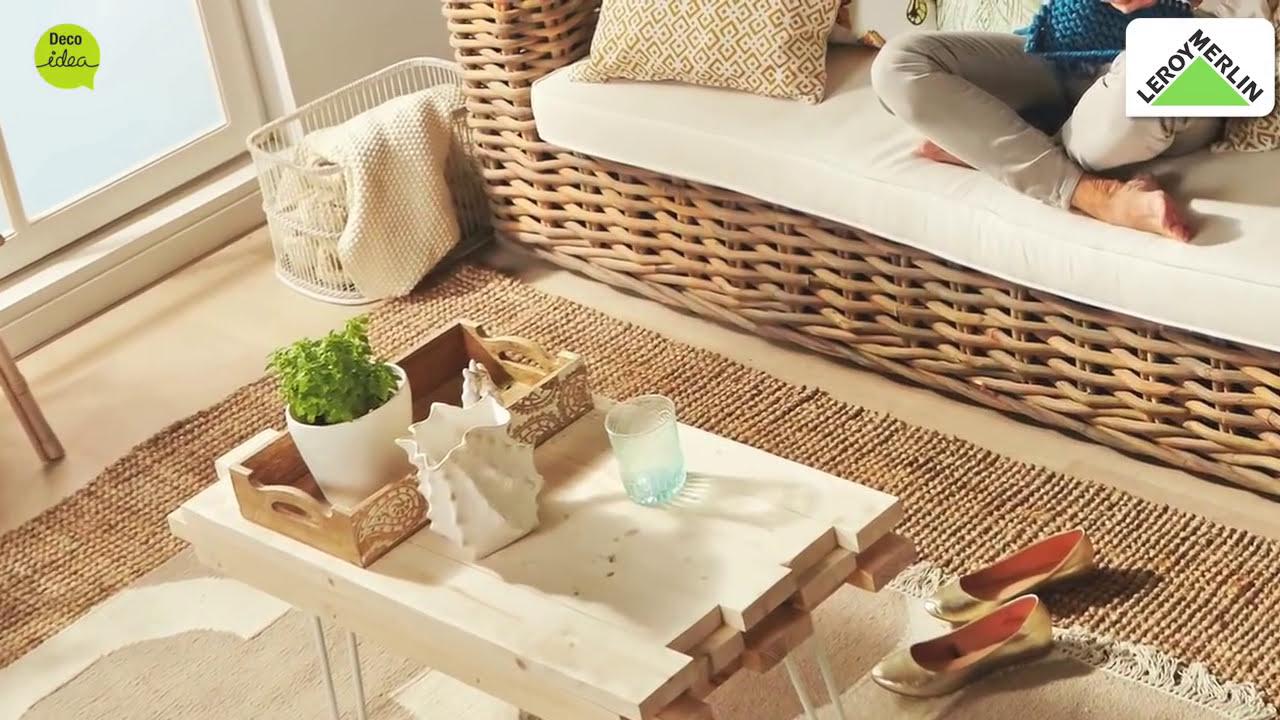 Como Fazer Uma Mesa Com Ripas