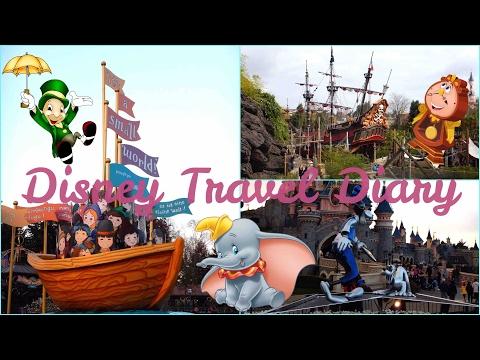 Travel Diary🎡  DisneyLand, Paris🎢