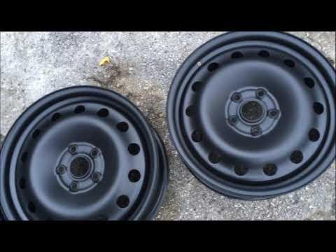 vw Epoxy steel wheels