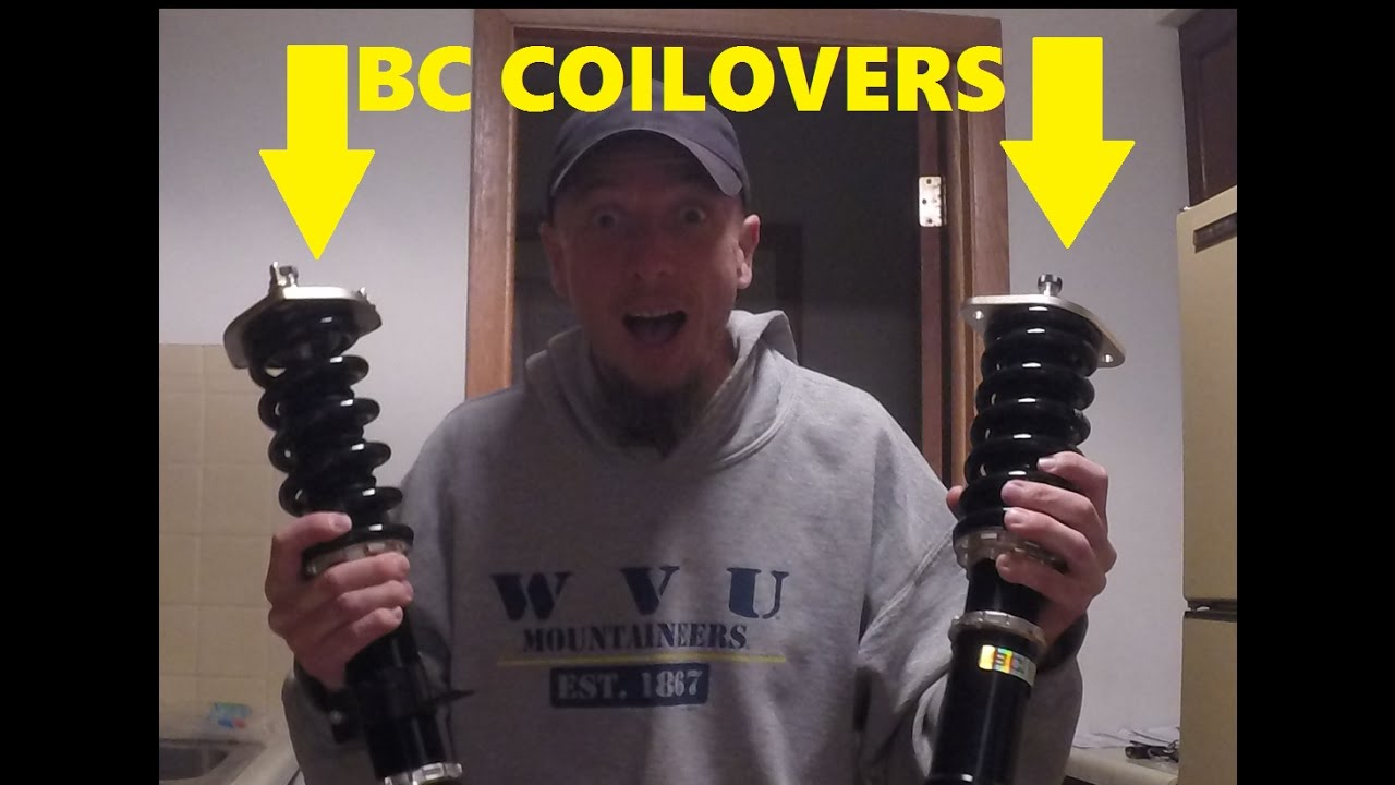 350Z BC RACING COILOVERS (UNBOXING)