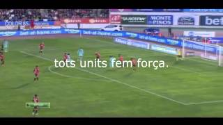 FC Barcelona Hymn / Song with Lyrics // MES QUE UN CLUB