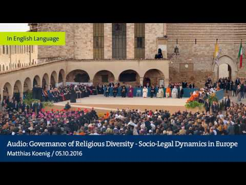 Audio: Governance of Religious Diversity - Socio-Legal Dynamics in Europe
