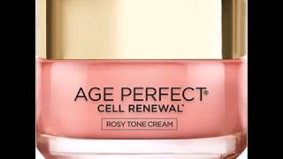 L'Oreal Paris Skin Care Age Perfect Cell Renewal Rosy Tone Moisturizer, 1 7 Ounce