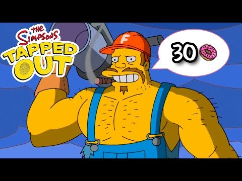 The Simpsons: Tapped Out - The Fracker - Premium Character Walkthroughs