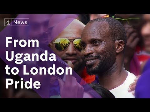 Say it Loud founder Aloysius Ssali shares his story with Channel 4 News