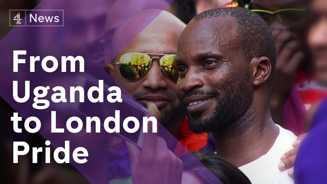 The Ugandan refugee who loves London Pride