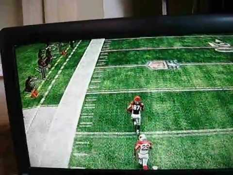 Madden 11: Andre Caldwell gets kickoff return touchdown on All-Pro mode