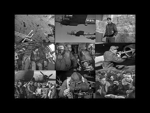 "Target for Today (Restored)  ""Maximum Effort"" World War 2 Bombing Mission 1944"