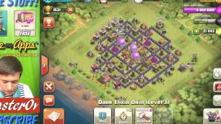 """""""MAX TOWN HALL 8"""" 42,000 GEM SPREE! 