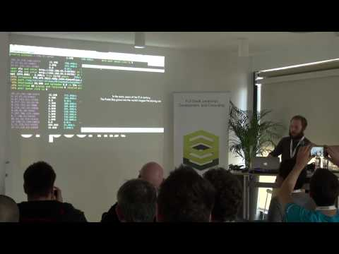 NodeConf One-Shot: Mathias Buus - BitTorrent, p2p with Node.js