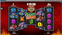 Monster Wheels Online Casino Video Slot Machine Live Play Free Spins & Amazing Bonus Payout
