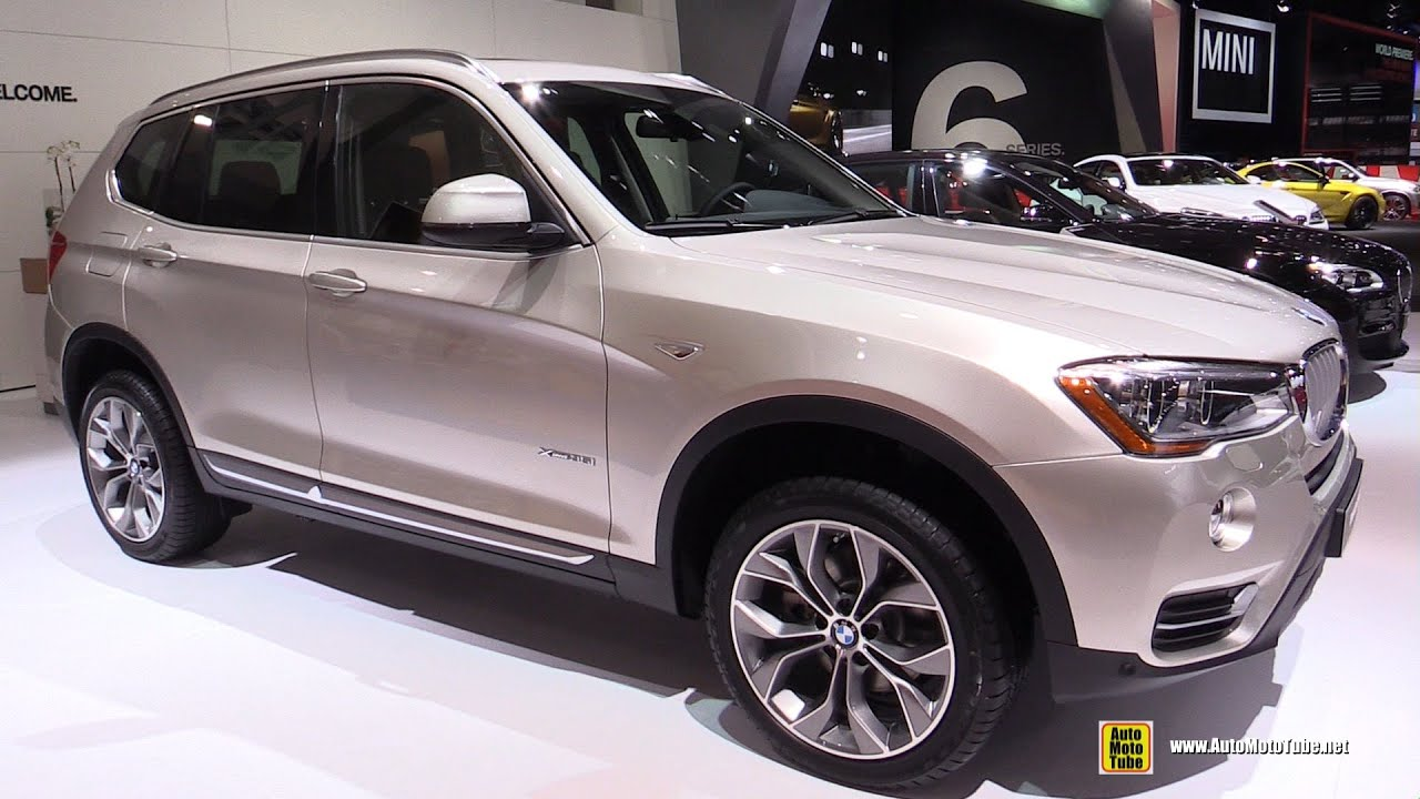 2015 bmw x3 35i xdrive exterior and interior walkaround 2015 detroit auto show youtube. Black Bedroom Furniture Sets. Home Design Ideas